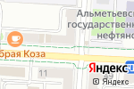 Схема проезда до компании Charm в Альметьевске