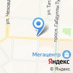 Эльком на карте Альметьевска