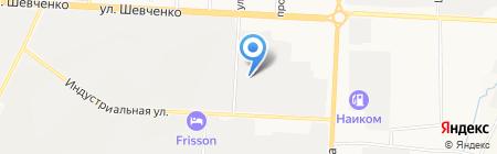 Татнефть-ТрансСервис на карте Альметьевска