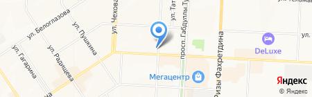 Ютрэйд на карте Альметьевска
