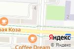 Схема проезда до компании Скрепка в Альметьевске