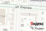 Схема проезда до компании Почтовое отделение №8 в Альметьевске