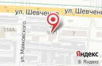Схема проезда до компании Механизатор в Альметьевске
