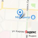 ЖЭУ №13 на карте Альметьевска