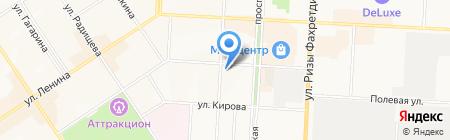 Трикотаж на карте Альметьевска