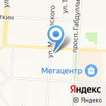 ТВ3-Альметьевск на карте Альметьевска