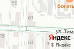 Схема проезда до компании ЖЭУ №13 в Альметьевске
