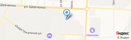 Автомастер на карте Альметьевска