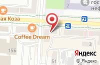 Схема проезда до компании Мясной ряд в Альметьевске