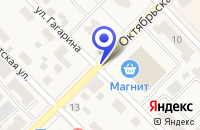 Схема проезда до компании ПРОДОВОЛЬСТВЕННЫЙ МАГАЗИН ЛУЧ в Менделеевске