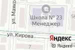 Схема проезда до компании Менеджер в Альметьевске