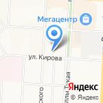 Менеджер на карте Альметьевска