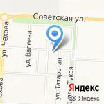 Управление Пенсионного фонда России в Альметьевском районе и г. Альметьевске на карте Альметьевска