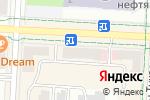 Схема проезда до компании Dixis в Альметьевске