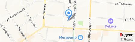 Департамент рекламы на карте Альметьевска