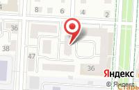 Схема проезда до компании Центральное в Альметьевске