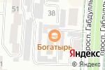 Схема проезда до компании ЛАБИРИНТ в Альметьевске