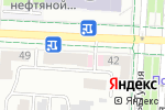 Схема проезда до компании РОКНРОЛЛЫ в Альметьевске