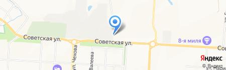 Мир рекламы на карте Альметьевска