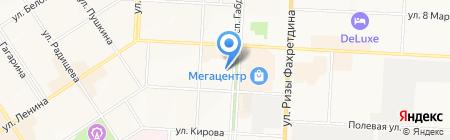 Чудо печка на карте Альметьевска