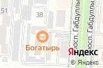 Схема проезда до компании Все для дома и сада в Альметьевске