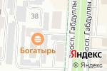 Схема проезда до компании Натяжное небо в Альметьевске