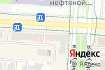 Схема проезда до компании Оптима в Альметьевске
