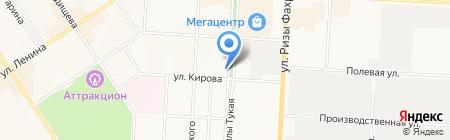 Выбор на карте Альметьевска