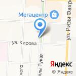 Ниппон на карте Альметьевска