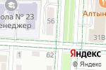 Схема проезда до компании Ниппон в Альметьевске