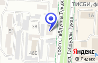 Схема проезда до компании МАГАЗИН СТРОИТЕЛЬНЫХ МАТЕРИАЛОВ COLOR в Альметьевске