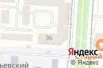 Схема проезда до компании Центральное, ТСЖ в Альметьевске