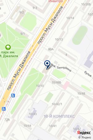 ПРОИЗВОДСТВЕННАЯ ФИРМА ТАТПРОФ на карте Набережных Челнов