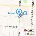 Звениговский мясокомбинат на карте Альметьевска