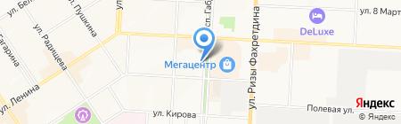 Магазин мебели на карте Альметьевска