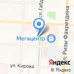 Konuz-Pizza на карте Альметьевска