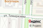 Схема проезда до компании Лачын в Альметьевске