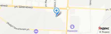 Купер на карте Альметьевска