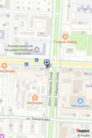 ФОТОСАЛОН КОНИКА ЭКСПРЕСС на карте Альметьевска