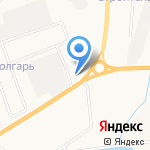 Трактиръ на кольцевой на карте Альметьевска