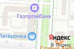 Схема проезда до компании Орхидея в Альметьевске