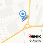Шинный центр на карте Альметьевска