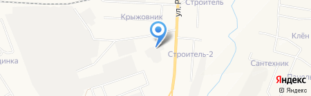 Зеленый город на карте Альметьевска