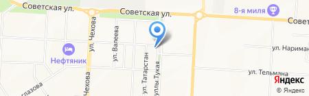 Чулпан АО на карте Альметьевска