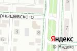Схема проезда до компании Чулпан в Альметьевске