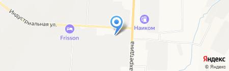 Учебно-производственный центр охраны и безопасности труда на карте Альметьевска