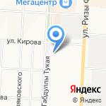 Банкомат на карте Альметьевска