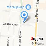 Батыр на карте Альметьевска