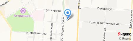 Восток-Сервис на карте Альметьевска