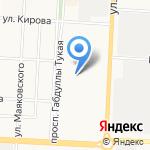 Альметьевский государственный нефтяной институт на карте Альметьевска